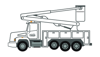 Outage Bucket Truck
