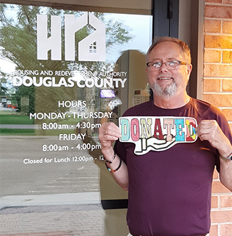 """Donated"" Douglas Co HRA"