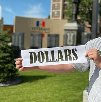"""Dollars"" Alex Veterans Park"