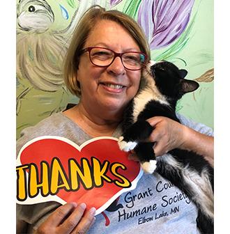"""Thanks"" Grant Co Humane Society"